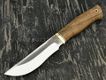 "Нож ""Бунтарь"" сталь Х12МФ, рукоять дерево орех, латунь (Тов. Завьялова)"