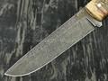 """Нож """"Цезарь"""" дамасская сталь, рукоять кап клёна (Тов. Завьялова)"""