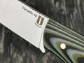 """Нож """"Рабочий"""" сталь Vanadis 10, рукоять G10 black-grey-olive (Наследие)"""