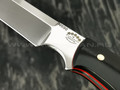 "Нож ""Крокер"" сталь N690, рукоять G10 black (Тов. Завьялова)"
