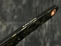 N.C.Custom киридаши KOI сталь Aus-8 blackwash