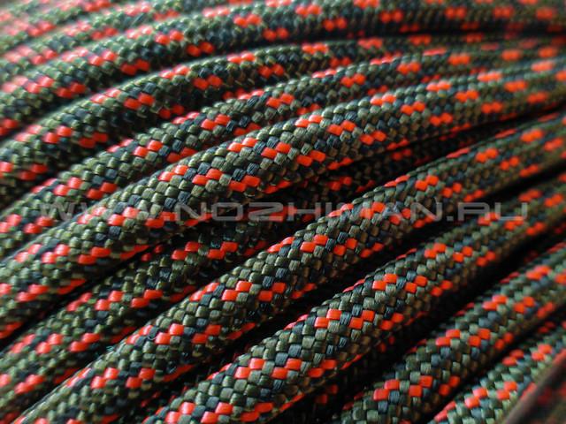 Paracord 550 Red Camo Digital