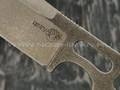 "1-й Цех нож ""Фугу"" сталь K110, рукоять сталь"