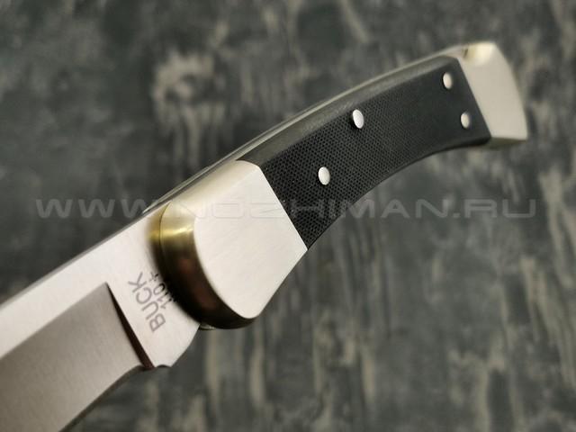 Нож Buck Folding Hunter 0110BKSNS1 сталь S30V рукоять G10, нейзильбер