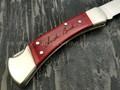 Нож Buck Folding Hunter 0110CWSNK сталь 420HC рукоять дерево вишня, никель
