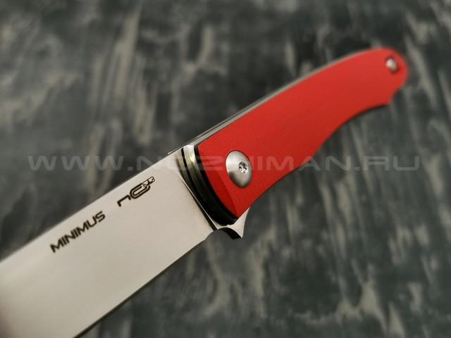 N.C.Custom нож Minimus сталь X105, рукоять G10 Red