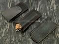 Чехол для складного ножа N.C.Custom, натуральная кожа