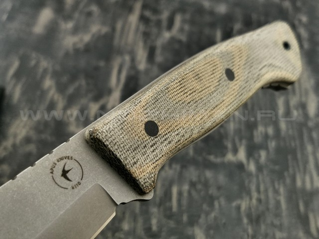 Apus Knives нож Strider сталь K110 рукоять микарта