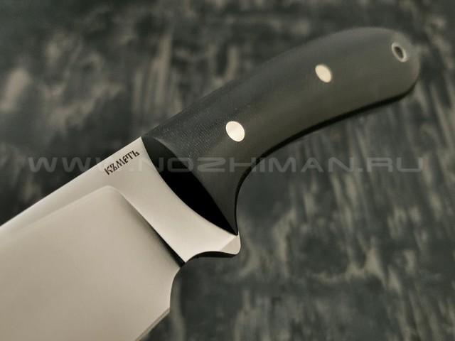 Кметъ нож Саргас сталь K100 рукоять микарта