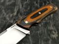Кметъ нож Акула сталь Elmax рукоять микарта