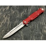 Mr.Blade нож Cosmo сталь Sleipner stonewash рукоять Aluminum Ergal Red