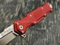 Mr.Blade нож Cosmo сталь Sleipner stonewash рукоять Aluminum Ergal Red