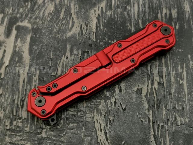 Mr.Blade нож Cosmo сталь Sleipner Black DLC, рукоять Aluminum Ergal Red