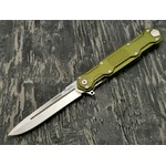 Mr.Blade нож Cosmo сталь Sleipner stonewash рукоять Aluminum Ergal Green