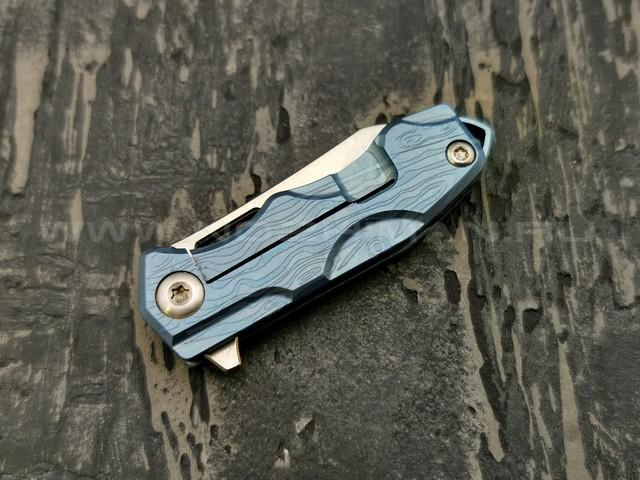 TuoTown нож Micro-8 сталь M390 рукоять Titanium