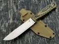 Apus Knives нож Raider сталь K110 рукоять G10 camo