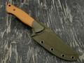 N.C.Custom нож Pride сталь D2 blackwash рукоять G10 brown