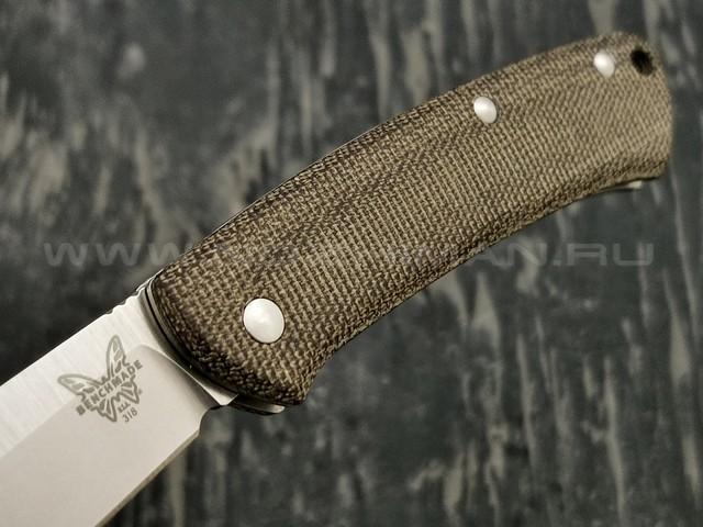 Нож Benchmade 318 Proper сталь CPM-S30V рукоять микарта