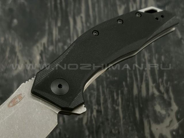 Zero Tolerance нож 0357 сталь CPM 20CV stonewash, рукоять G10 black