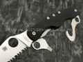 Нож Spyderco Clipitool Rescue C209GS, сталь 8Cr13Mov satin, рукоять G10 black
