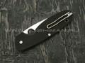 Нож Spyderco Emphasis PS C245GPS, сталь 8Cr13MoV satin, рукоять G10 black