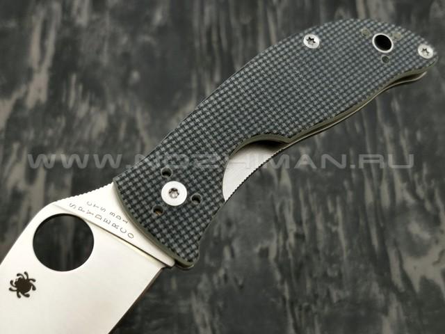 Нож Spyderco Alcyone C222GPGY, сталь CTS-BD1 satin, рукоять G10 grey