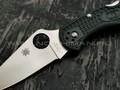 Нож Spyderco Delica 4 C11PGRE, сталь ZDP-189, рукоять FRN Lightweight British Racing Green