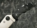Нож Spyderco Endura 4 Flat Ground Black C10FPBK, сталь VG-10 satin, рукоять FRN Black
