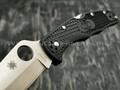 Нож Spyderco Endura 4 Plain Edge C10PBK, сталь VG-10 satin, рукоять FRN Black