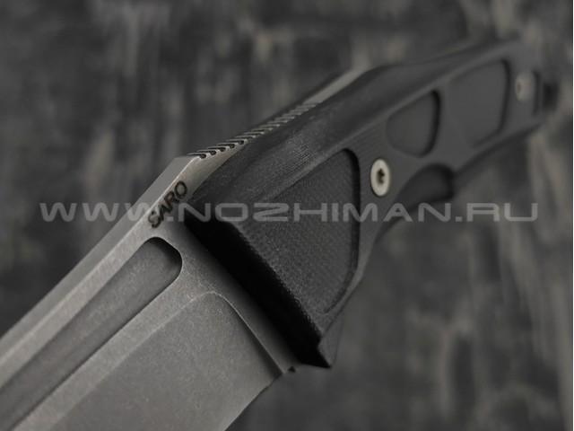 Нож SARO Кром Fix сталь К110, рукоять G10
