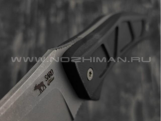 Нож SARO Багира Fix сталь К110, рукоять G10