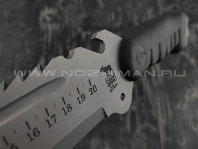 Мачете SARO Экспедиционный сталь 65х13, рукоять резина
