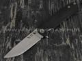 Нож SARO Чиж Next черный сталь K110, рукоять G10