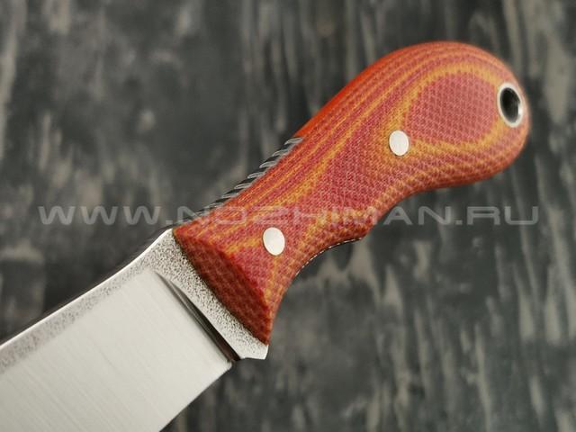 РВС нож Трояк сталь N690, рукоять микарта