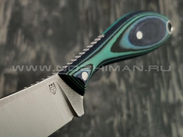 РВС нож Каспер сталь N690, рукоять микарта