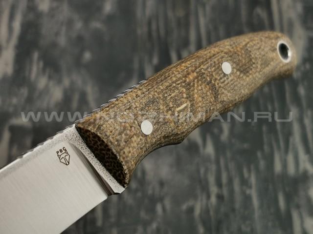 РВС нож Малыш сталь N690, рукоять микарта