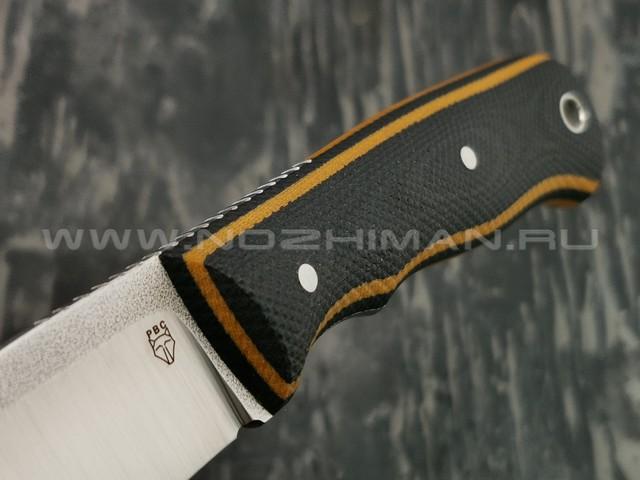 РВС нож Крепыш сталь N690, рукоять микарта