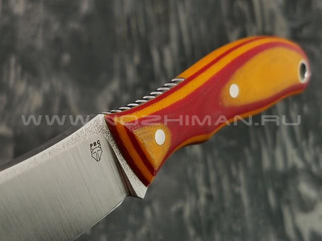 РВС нож Четвертак сталь N690, рукоять микарта