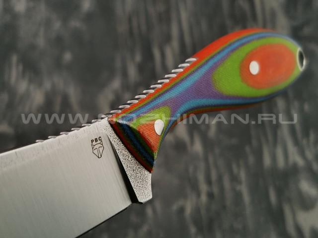 РВС нож Каспер сталь N690, рукоять микарта (2)