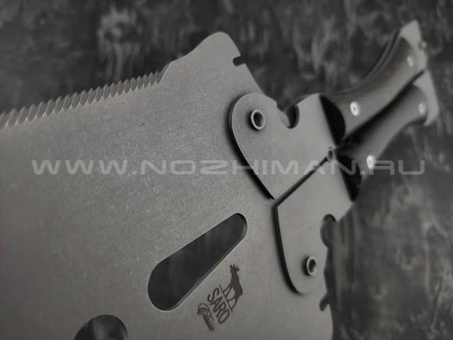 Лопата SARO Крот сталь 65х13, рукоять дерево венге