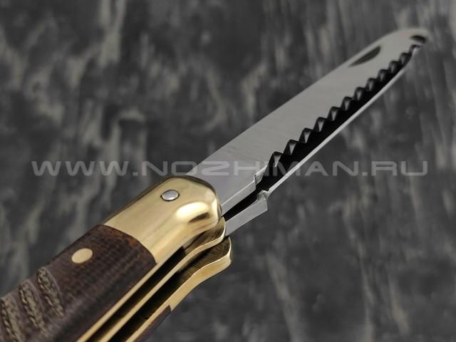 Нож SARO Авиационный Ил-14 сталь 65х13, рукоять текстолит