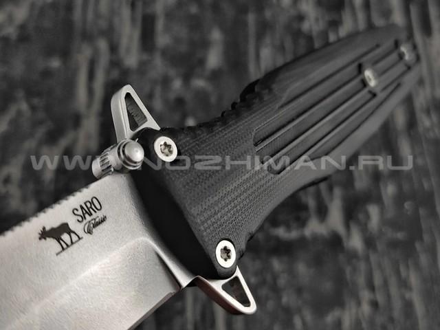 Нож SARO Варанг сталь Elmax, рукоять G10