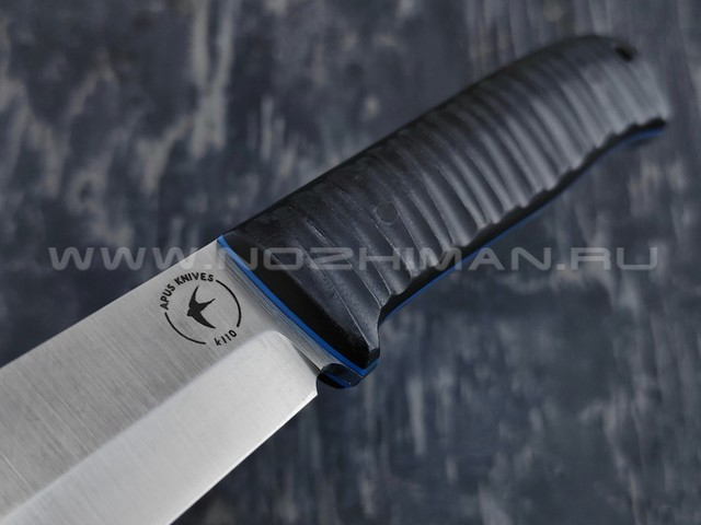 Apus Knives нож Raider Bush сталь K110, рукоять G10 black
