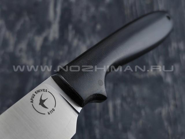 Apus Knives нож Wilson сталь K110, рукоять Micarta black