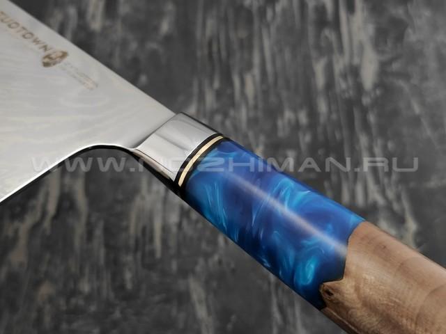 Нож TUOTOWN Цай Дао TWB-DK1 сталь ламинат VG10, рукоять гибрид