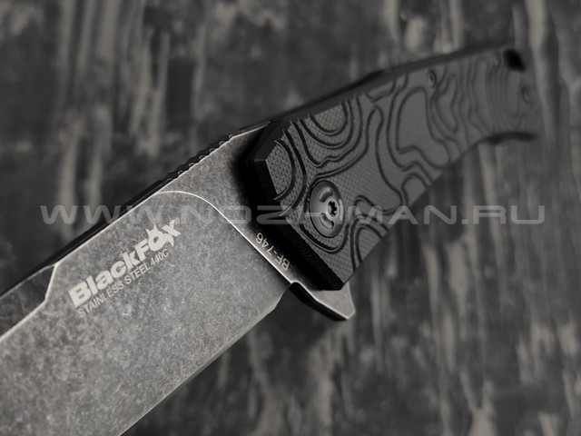 Нож Black Fox BF-746 ECHO 1 сталь 440С, рукоять G10