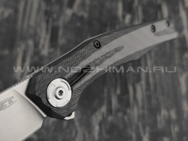 Zero Tolerance нож 0707 сталь CPM 20CV, рукоять carbon fiber