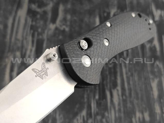 Нож Benchmade CU551-SS-S90V Custom GRIPTILIAN сталь CPM-S90V, рукоять carbon