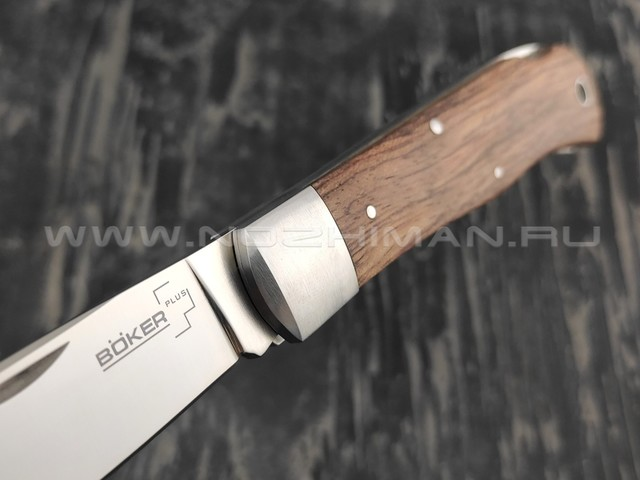 Нож Boker Plus 01BO185 LOCKBACK BUBINGA сталь 440С, рукоять бубинга