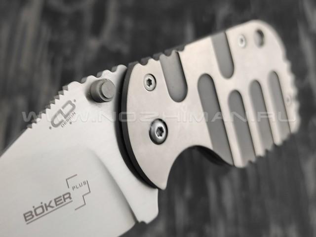 Нож Boker Plus 01BO605 SUBCOM TITAN сталь VG10, рукоять титан